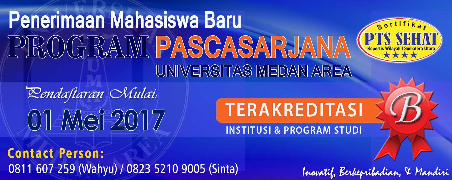 Pendaftaran Mahasiswa Baru TA 2016/2017
