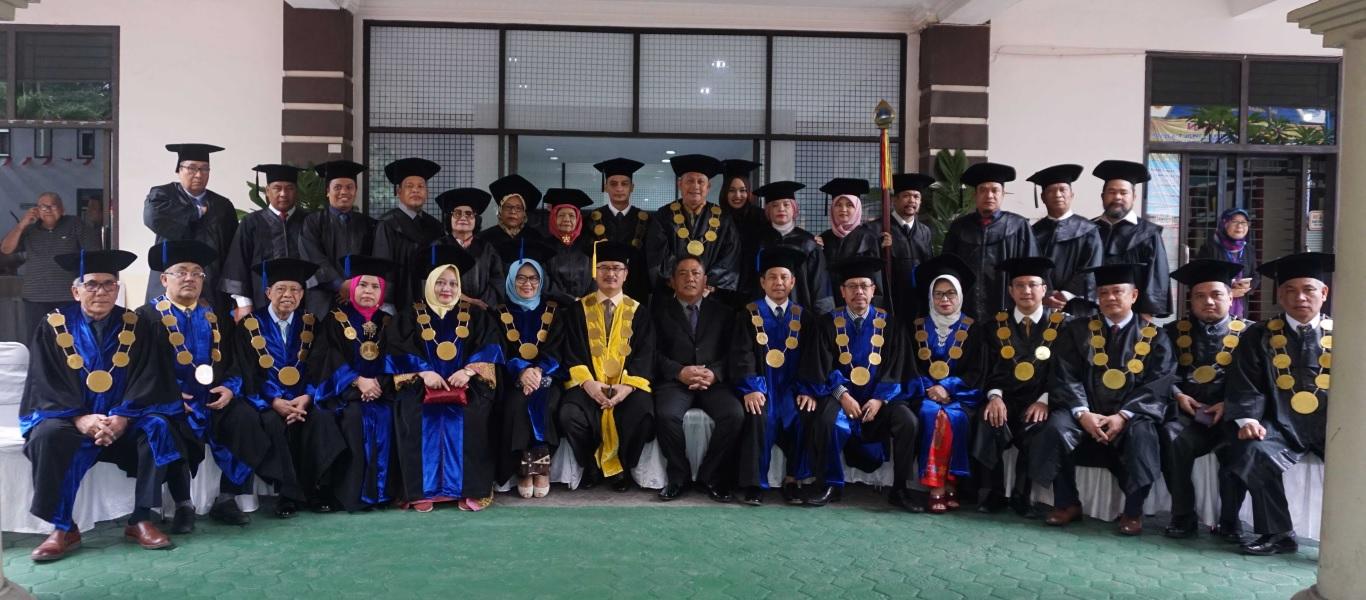 Universitas Medan Area Gelar Upacara Wisuda Sarjana Dan Magister Periode II Tahun 2019