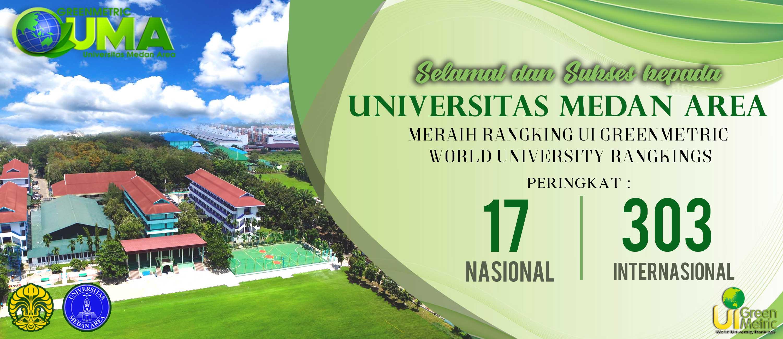 Rangking UI Greenmetric World University Rangkings Peringkat 17 Nasional dan 303 Internasional