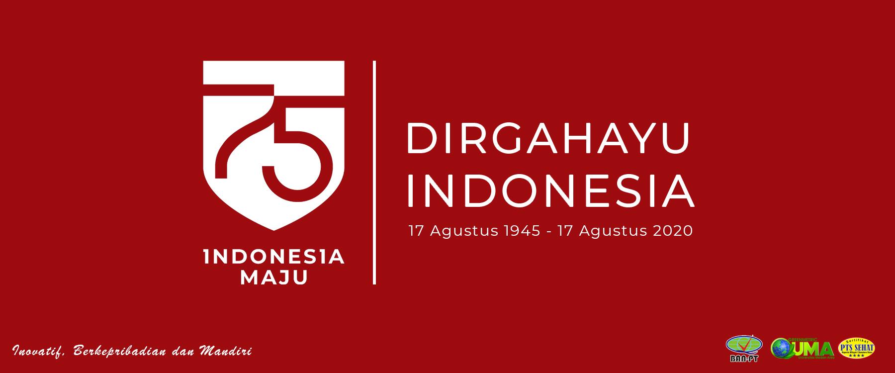 Slider Dirgahayu Indonesia 75th