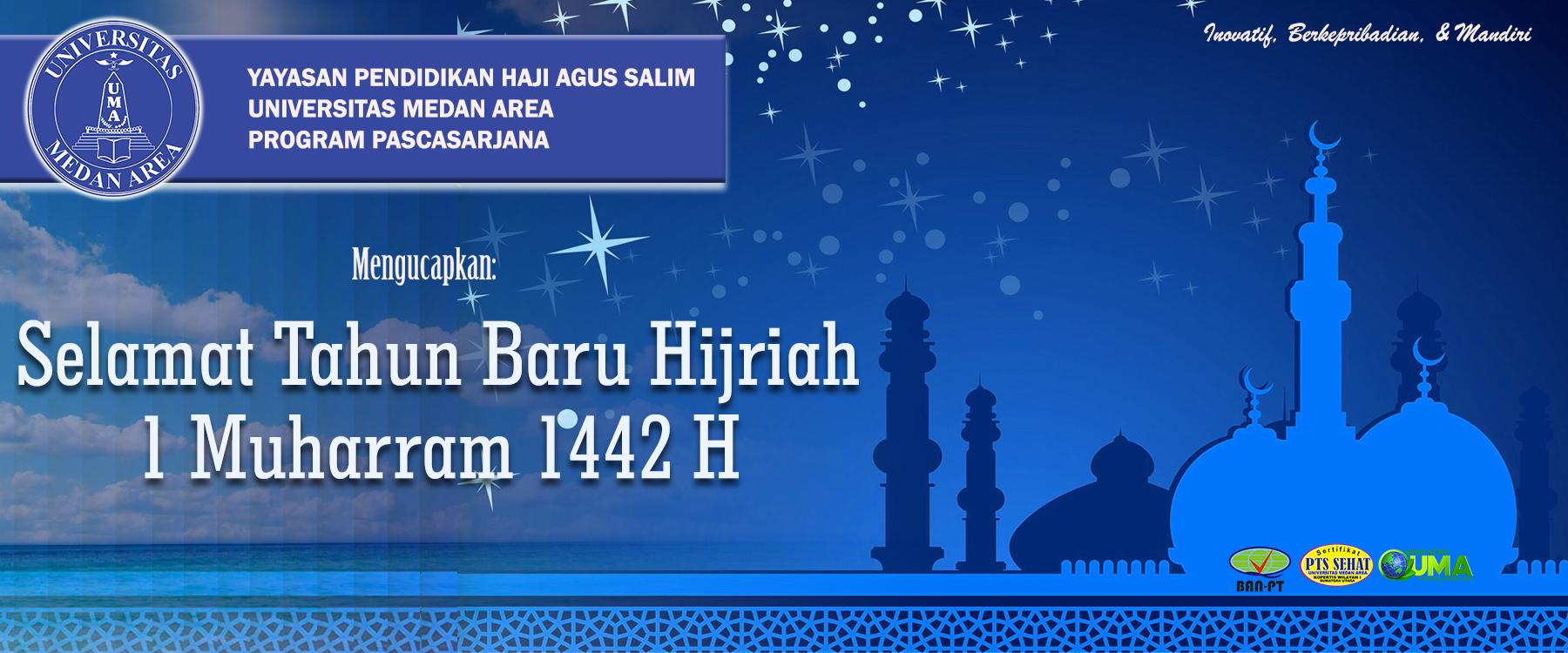 Slider Tahun Baru Hijriah 1442 H