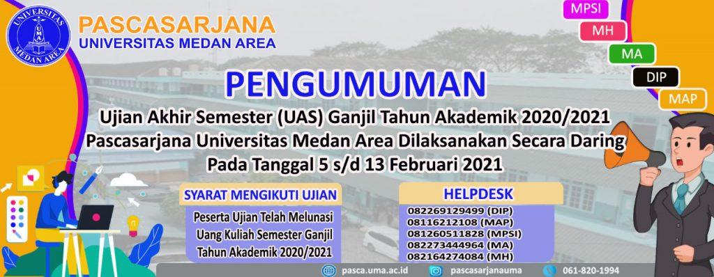 JADWAL UTS & UAS - Program Studi Magister Ilmu Hukum ...
